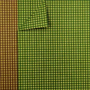 Shoyu patterned textured paper, brown, green, 20cm x 30cm, 10 sheets, [YHZ103]